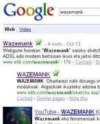 Wazemank bilaketa Googlen
