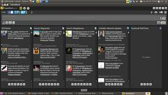 TweetDeck itxura Ubuntun