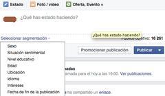 Facebook-en euskara segmentatzen