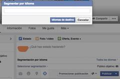 Facebook: euskara segmentatzen (2)