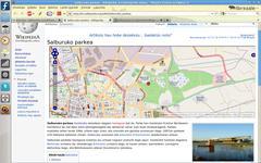 Wikipedia+OSM mapak