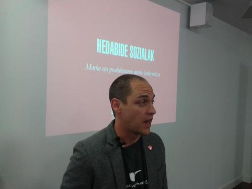 Haritz Rodriguez, Betor hitzaldian