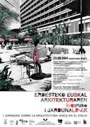 Erbesteko Euskal Arkitektura jardunaldien aurkezpena