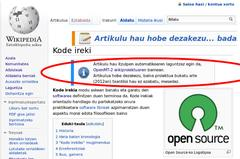Wikiproiektua, itzultzaile automatikoaren laguntzaz