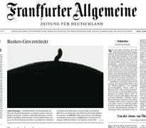Txapela Frankfurter Allgemeine egunkaria