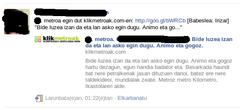 Klikmetroak Facebook-en