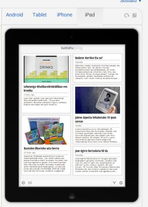 Google Currents, ipad bista